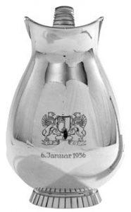 Weinkanne - Silber von 1956, Geschenk der Stadt Stade zur 400-Jahrfeier