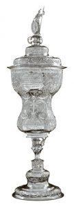 Willkomm von 1624, Silber-Pokal des Krameramtes, Henrich von Greven, Stade.