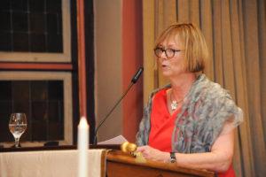 Festred Frau Bürgermeisterin Silvia Nieber.